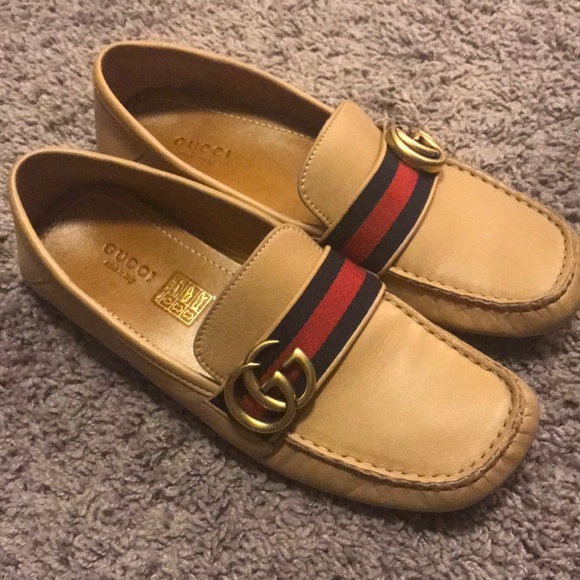 136f6cfb263 Gucci Shoes - Authentic Gucci Noel leather driver shoes LE